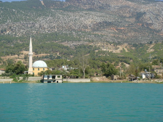 Incekum, Turkey: Mineral sea cruise