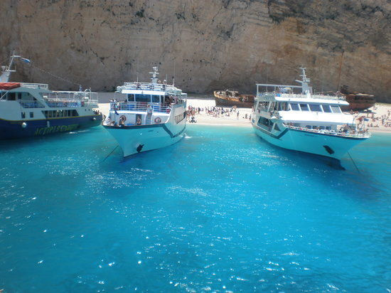 Zakynthos, Hellas: Zante boat trip