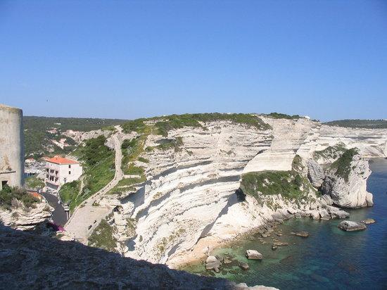 Bonifacio, France: I faraglioni