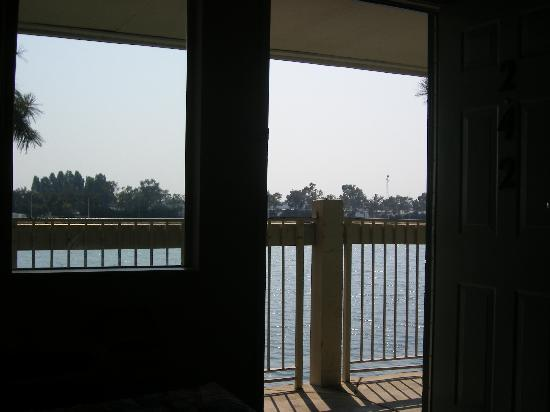 Motel 6 Oakland-Embarcadero: View from my bed