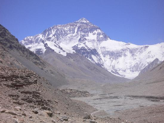 Khumbu, เนปาล: everest from tibet