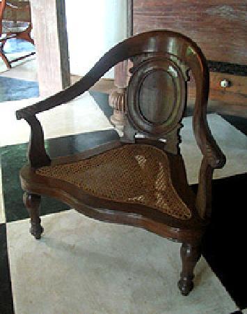 Bentota, Sri Lanka: A chair
