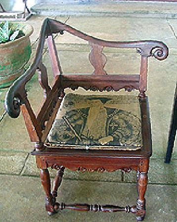 Bentota, ศรีลังกา: A chair