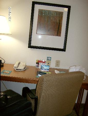 Staybridge Suites Chattanooga Downtown: desk area