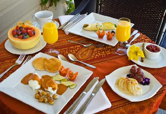 La Bullerie : Somptuous breakfast
