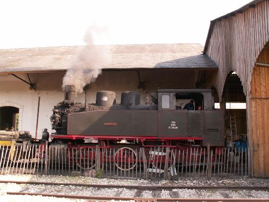 Martel, France: Le train vapeur