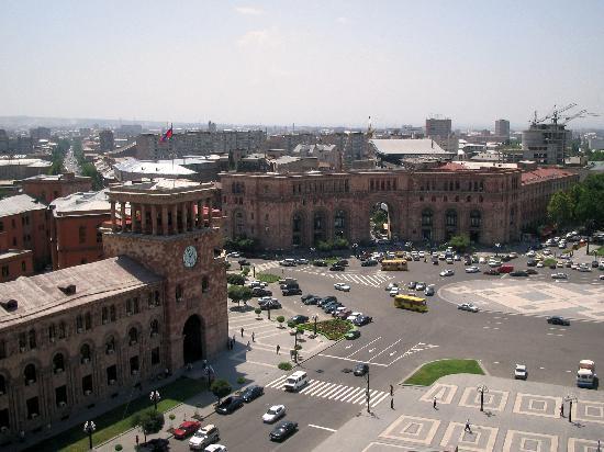 Ereván, Armenia: down town