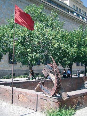 Yerevan, Armenia: Hammer and Sickle