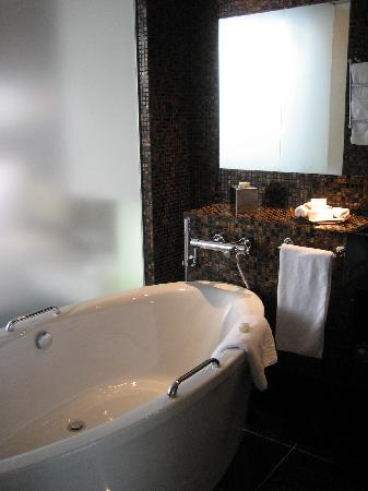 Swissotel Tallinn: The bathroom