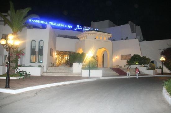 Hasdrubal Thalassa Hotel & Spa Port El Kantaoui: Entrée de l'hotel