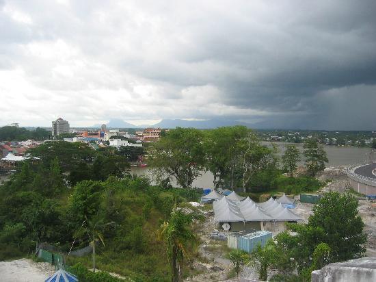 Sarawak, Malaysia: View over Kuching