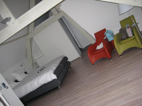Asinello B&B: Part of the bedroom