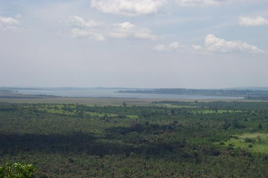 Uganda: view from Clay Pidgeon shooting range an hour's drive from Kampala