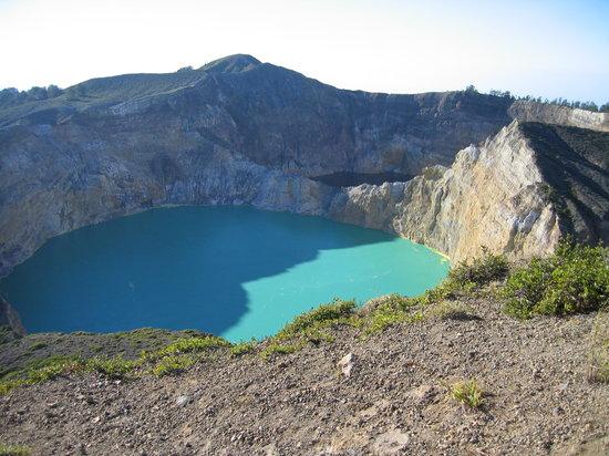 Flores, Endonezya: le volcan Kelimutu