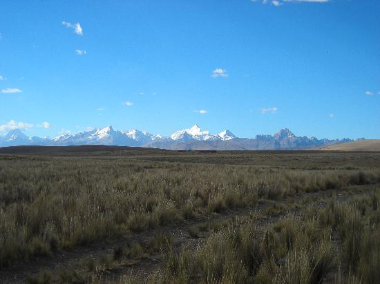 Just outside huaraz