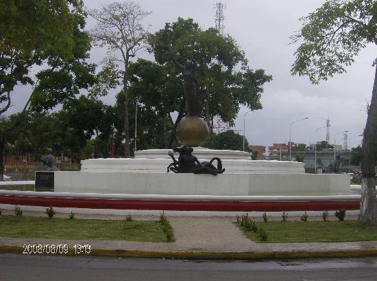 "Maturin, Venezuela: Plaza de Juana ""La Avanzadora"""