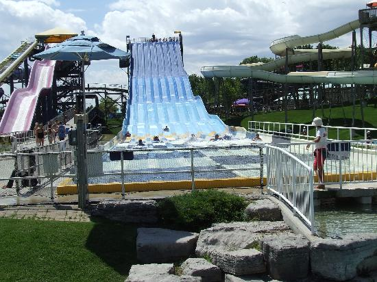 Canada's Wonderland: The water park inside the park