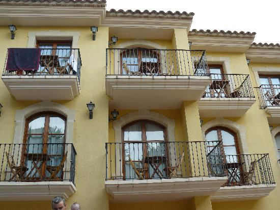 La Masieta : The Balconies