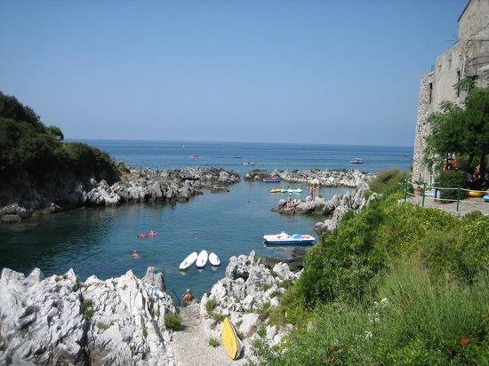 Maratea, Italia: Swimming site for hotel guests 1