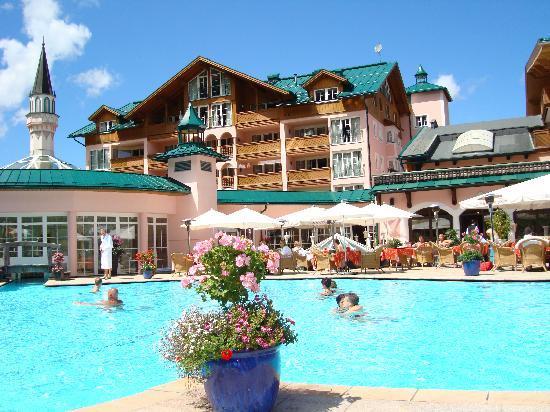Haldensee, النمسا: piscina esterna