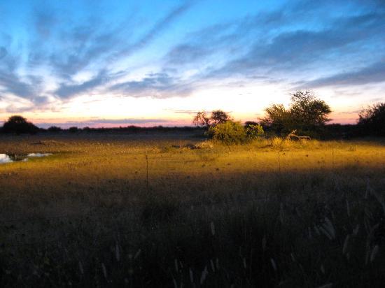 ناميبيا: Sunset