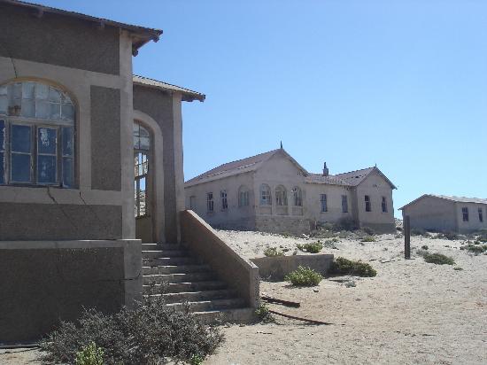 Le village fantôme de Kolmannskuppe : Kolmanskop