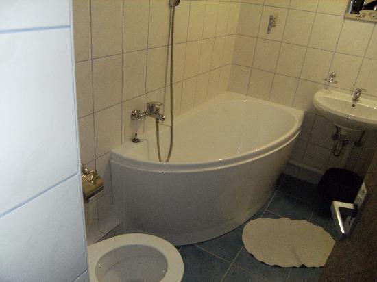 Botel Vodnik - Prague River Hotel: bagno