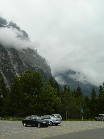 Hotel Wetterhorn: VIEW FROM FRONT OF HOTEL