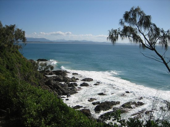 Teluk Byron, Australia: View from the headland