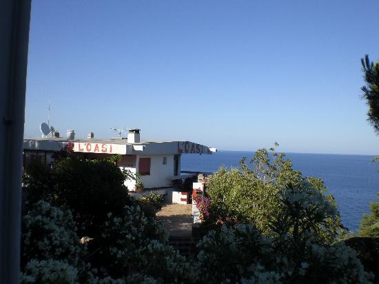 Hotel L'Oasi : la reception de l'hotel oasi