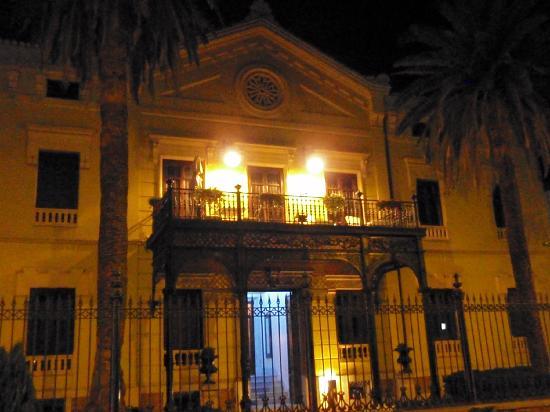 ฮอสเปสปาลาซิโอเดลอสปาตอส: hotel at night