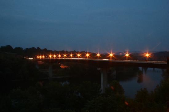 Shepherdstown, Wirginia Zachodnia: View from The balcony.