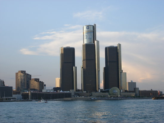Detroit, MI: from Windsor side