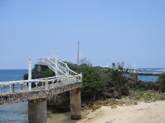 Treasures Of Bolinao Beach Resort Footbridge Facing South China Sea