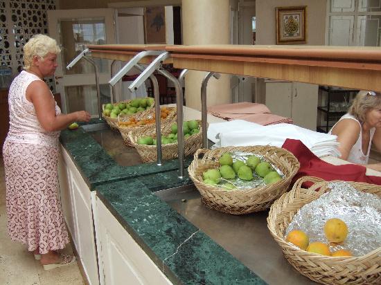 Sillyum Hotel: fruits
