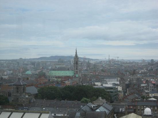 Carnegie Court Hotel: Dublin skyline