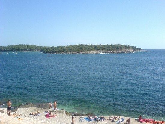 Croacia: Pula Beach