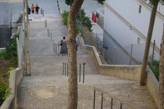 Offending Steps Picture Of Vista Club Apartments Santa Ponsa