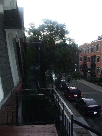 Au 4700 Rivard: View from front door (on first floor up)