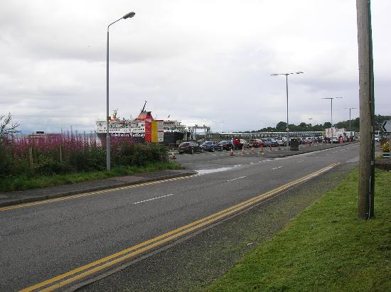 Ferry point from outside Linnhe view