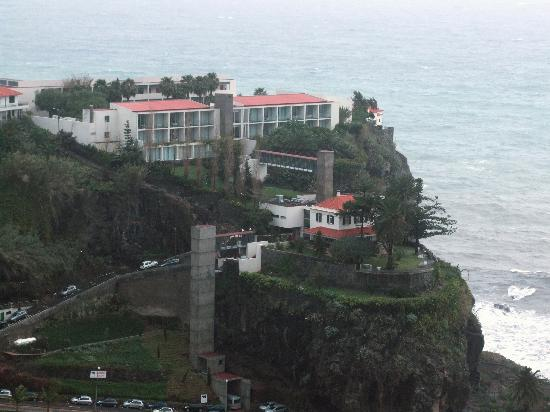 Estalagem Ponta do Sol: Le site de l'hôtel