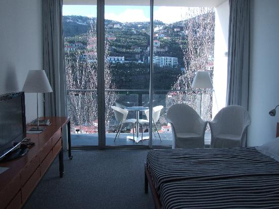 Estalagem Ponta do Sol: Notre chambre, côté montagne