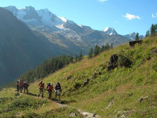 Val d'Aoste, Italie : escursionismo nel parco del Gran Paradiso