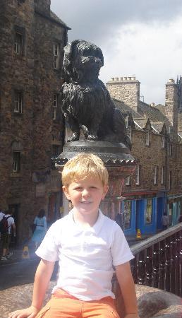 Edinburgh, UK: The Bobby
