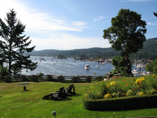 Salt Spring Island, Canada: the view
