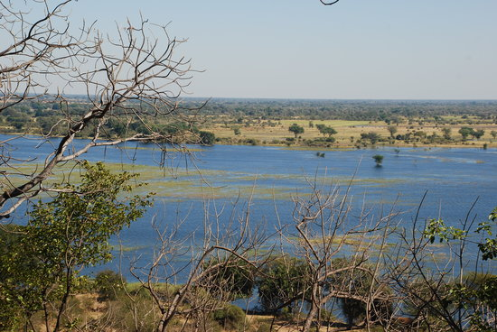 Chobe National Park, Botsuana: Chobe River from Muchenje Game Lodge