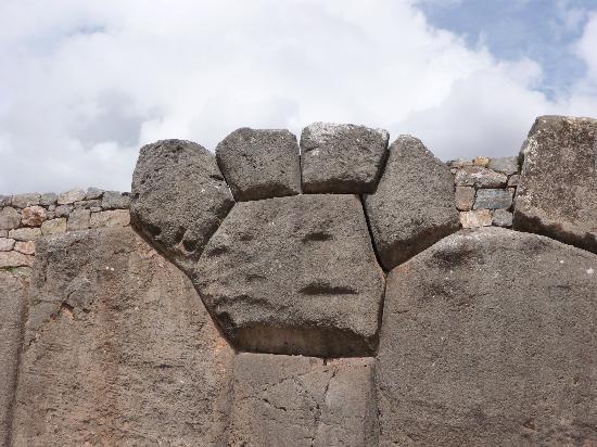 "Machu Picchu, Perú: The ""panther paw"" at Sacsayhuaman"