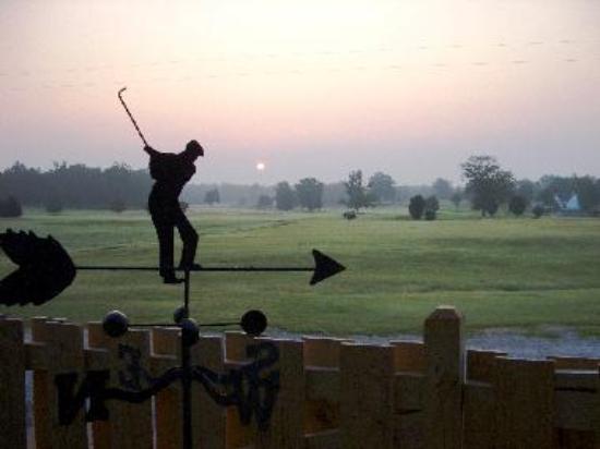 Yoda Creek Golf Course view from Cart Barn Inn