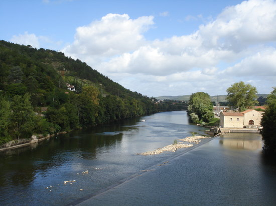 Cahors, France : River
