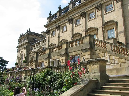 Leeds, UK: Harewood House back videw